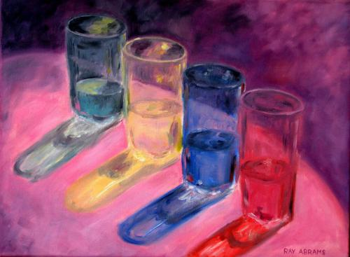HAPPY HOUR       OIL ON CANVAS 18X24